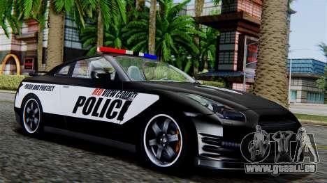 NFS Rivals Nissan GT-R R35 pour GTA San Andreas
