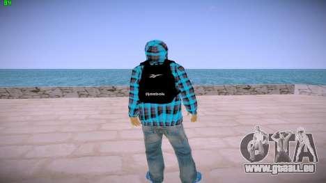 Latinos pour GTA San Andreas deuxième écran