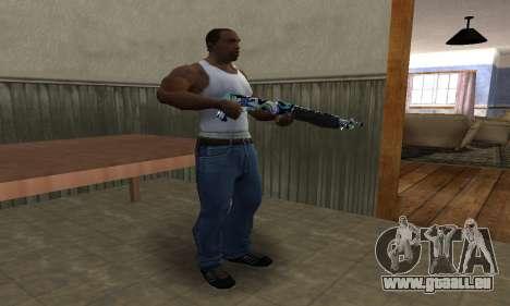 Limeyond Combat Shotgun pour GTA San Andreas troisième écran