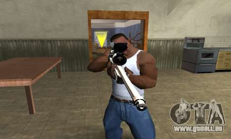 Gold Dragon Sniper Rifle für GTA San Andreas zweiten Screenshot