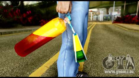 Brasileiro Fire Extinguisher pour GTA San Andreas troisième écran