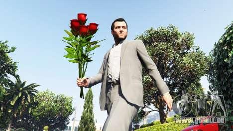 Un bouquet de roses pour GTA 5