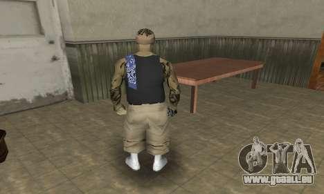 Rifa Skin Third pour GTA San Andreas cinquième écran