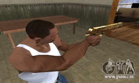 Microshem Deagle pour GTA San Andreas deuxième écran