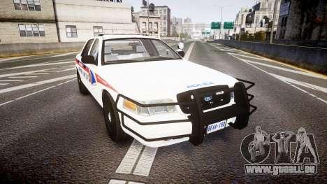 Ford Crown Victoria Bohan Police [ELS] WL für GTA 4