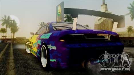 Nissan Silvia S14 Kouki Matt Faileds pour GTA San Andreas laissé vue