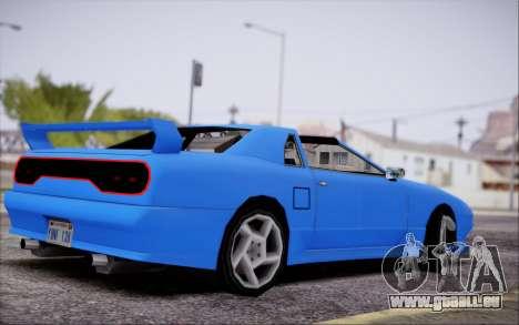 Elegy GT pour GTA San Andreas laissé vue