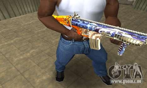M4 Fish Power für GTA San Andreas zweiten Screenshot