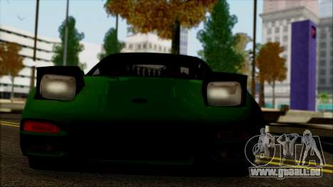 Nissan 240SX S13 pour GTA San Andreas vue de droite