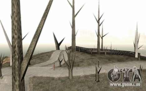 Bäume ohne Blätter für GTA San Andreas