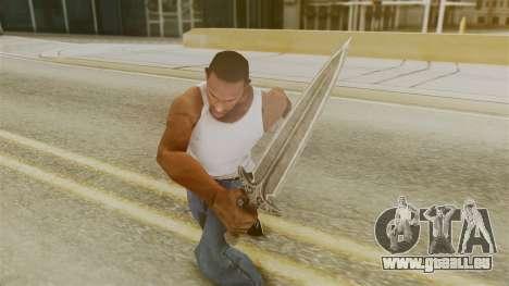 Steel Dagger pour GTA San Andreas troisième écran