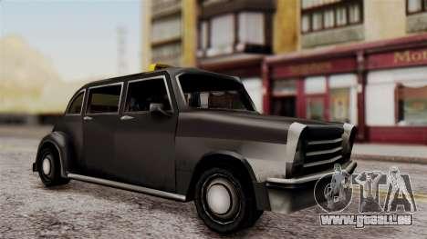London Cab pour GTA San Andreas