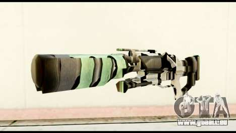 Rocket Launcher from Crysis 2 pour GTA San Andreas