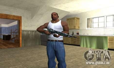 Green Forest Rifle pour GTA San Andreas troisième écran