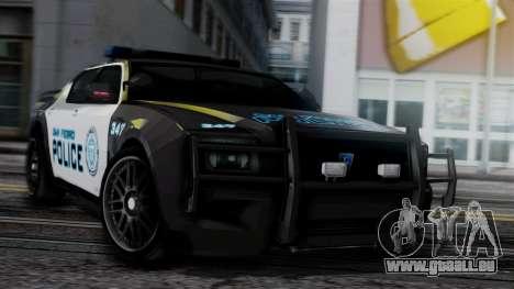 Hunter Citizen Police SF IVF für GTA San Andreas