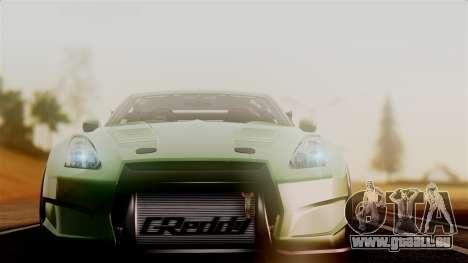 Nissan GT-R R35 Bensopra 2013 pour GTA San Andreas