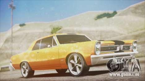 Pontiac GTO 1965 für GTA San Andreas
