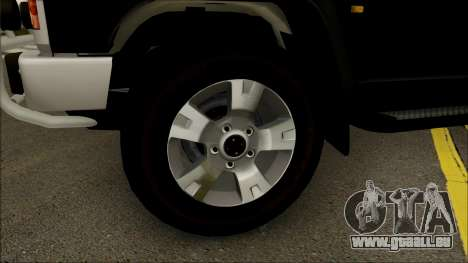Nissan Patrol Y60 für GTA San Andreas Rückansicht