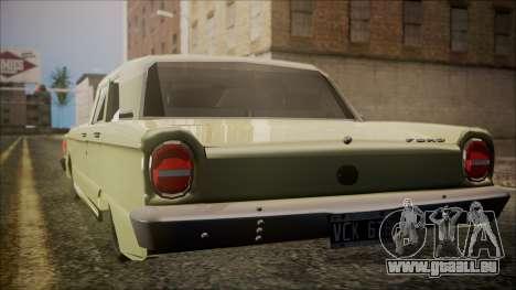 Ford Falcon 3.0 pour GTA San Andreas laissé vue