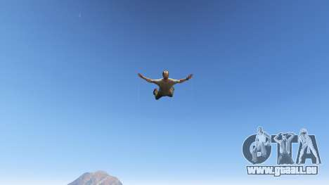 GTA 5 Superhero cinquième capture d'écran