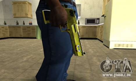 Sponge Bob Deagle für GTA San Andreas