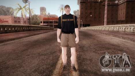 Écolier pour GTA San Andreas deuxième écran