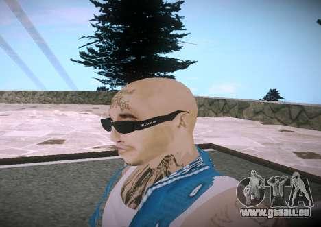Asesinos Loco HQ Skin pour GTA San Andreas troisième écran