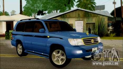 Toyota Land Cruiser 100 UAE Edition für GTA San Andreas