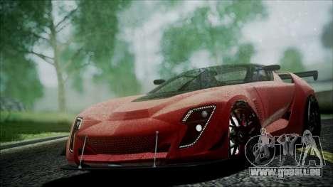 Bertone Mantide 2010 für GTA San Andreas