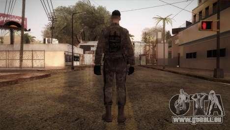 Army MARPAT pour GTA San Andreas troisième écran