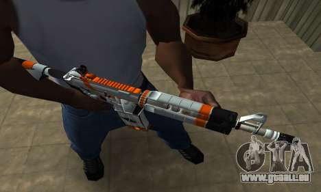 M4 Asiimov pour GTA San Andreas deuxième écran