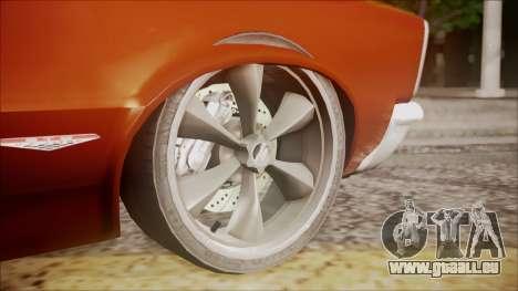 Pontiac GTO 1965 für GTA San Andreas rechten Ansicht