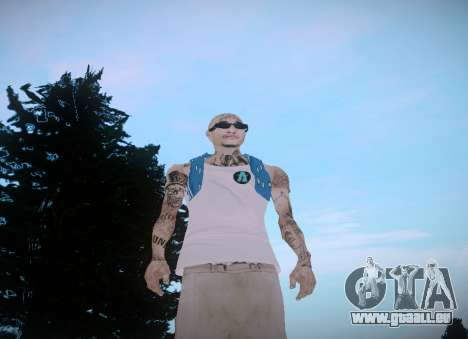 Asesinos Loco HQ Skin pour GTA San Andreas