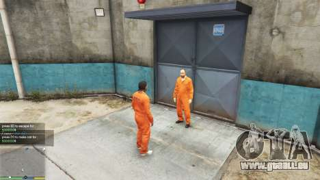 Prison v0.2 pour GTA 5