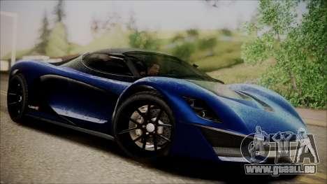 GTA 5 Grotti Turismo R SA Style für GTA San Andreas