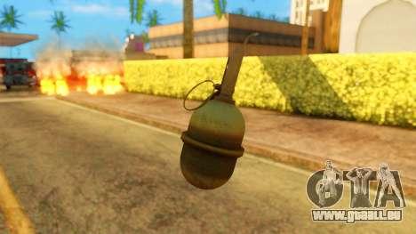 Atmosphere Grenade pour GTA San Andreas troisième écran