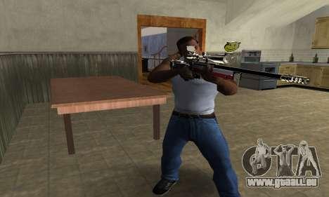 American Sniper pour GTA San Andreas troisième écran