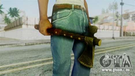 Tomahawk from Silent Hill Downpour für GTA San Andreas dritten Screenshot
