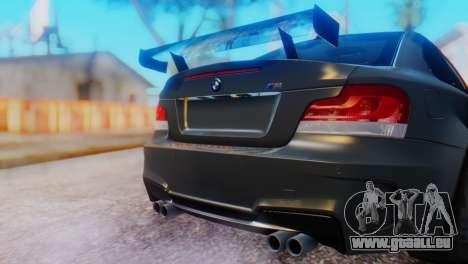 BMW M1 Tuned pour GTA San Andreas vue arrière