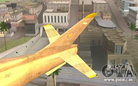 GTA 5 Besra pour GTA San Andreas sur la vue arrière gauche