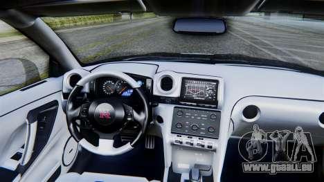 NFS Rivals Nissan GT-R R35 pour GTA San Andreas vue de droite
