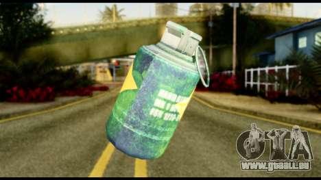 Brasileiro Grenade für GTA San Andreas zweiten Screenshot