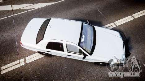 Ford Crown Victoria Bohan Police [ELS] unmarked pour GTA 4 est un droit