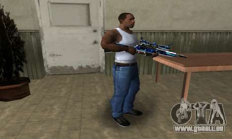 Water Sniper Rifle für GTA San Andreas dritten Screenshot