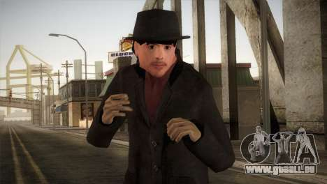 Sherlock Holmes v3 pour GTA San Andreas