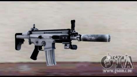 MK16 PDW Standart Quality v1 pour GTA San Andreas