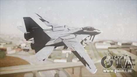 F-14B Bombcat VF-11 Red Rippers pour GTA San Andreas laissé vue