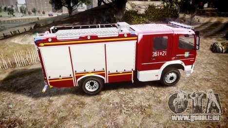 Mercedes-Benz Atego 1530 Firetruck [ELS] pour GTA 4 est une gauche