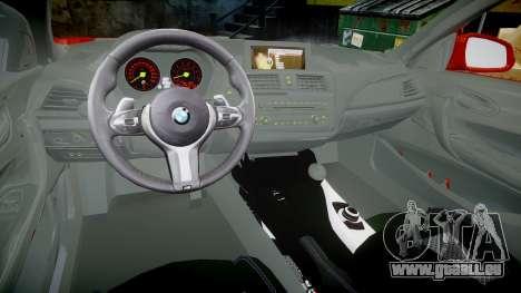 BMW M235i für GTA 4 Rückansicht