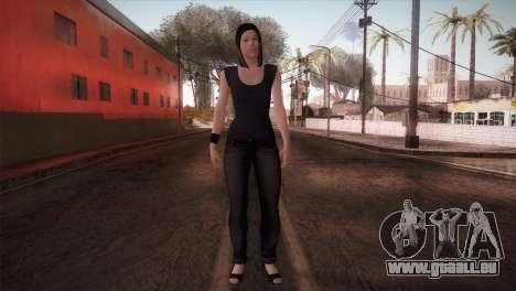 Mecgrl HD Model pour GTA San Andreas deuxième écran